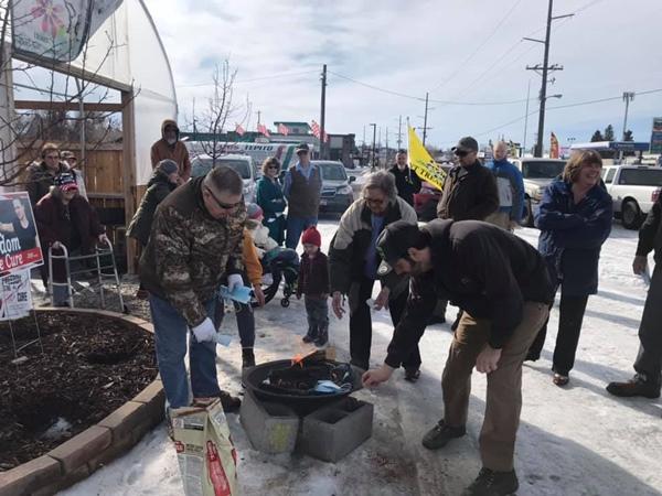 Mask Burning Across Idaho ⋆ Conservative Firing Line