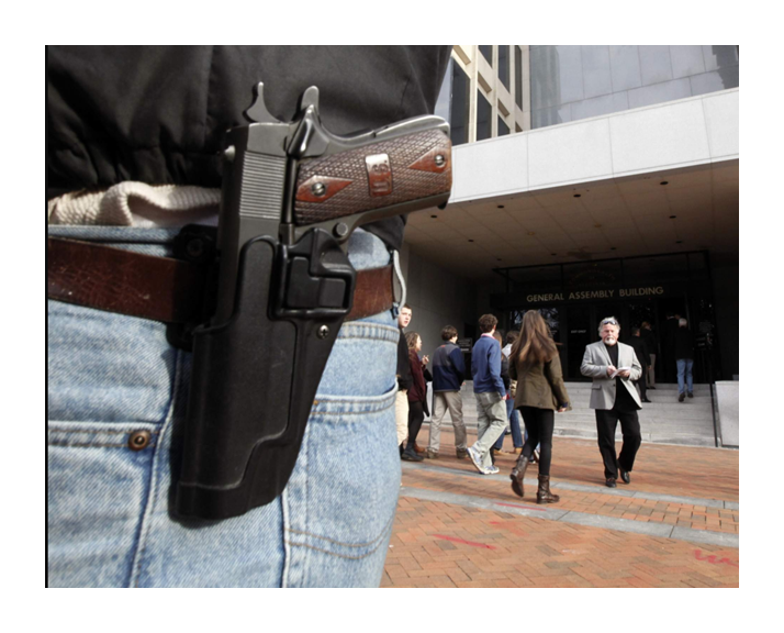 armed citizen intervened