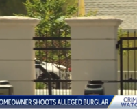 Hollister Homeowner Shoots Armed Burglar