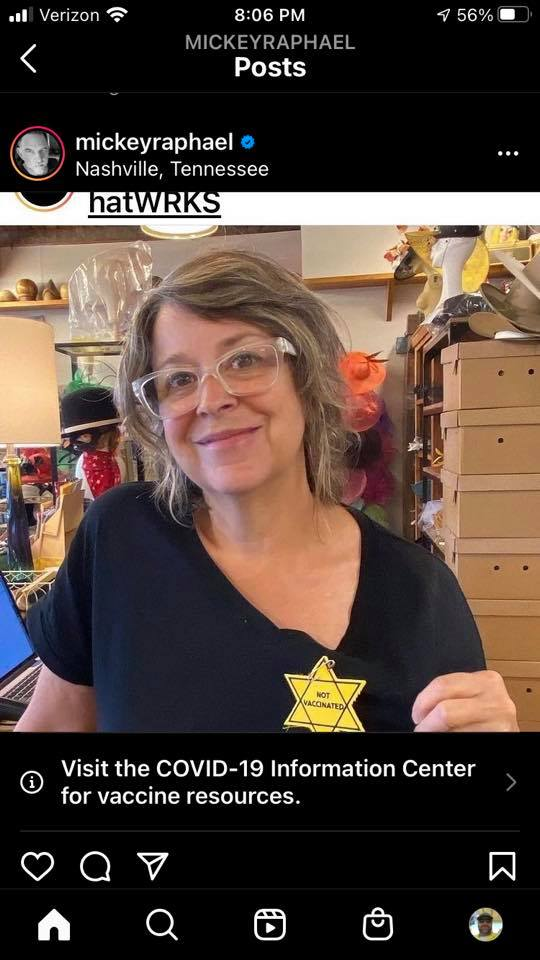 Tennessee Hat Company Under Fire Over Nazi-like 'Yellow Star' Covid Badges ⋆ Conservative Firing Line