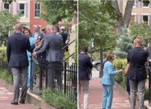 Report: Nazi Pelosi Spotted Maskless At DC Gathering AFTER Threatening To Arrest Maskless Staffers, Visitors