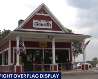 Terry Trobiani, Illinois Restaurant Owner, Cited Over Display of American Flags