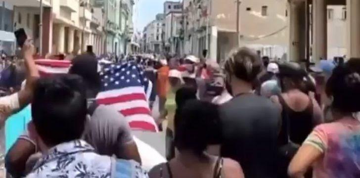 cubans marched