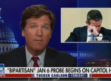 Tucker Carlson Mocks Kinzinger, Schiff, For Crying Like Babies During Pelosi's Sham January 6 Hearing (Video)