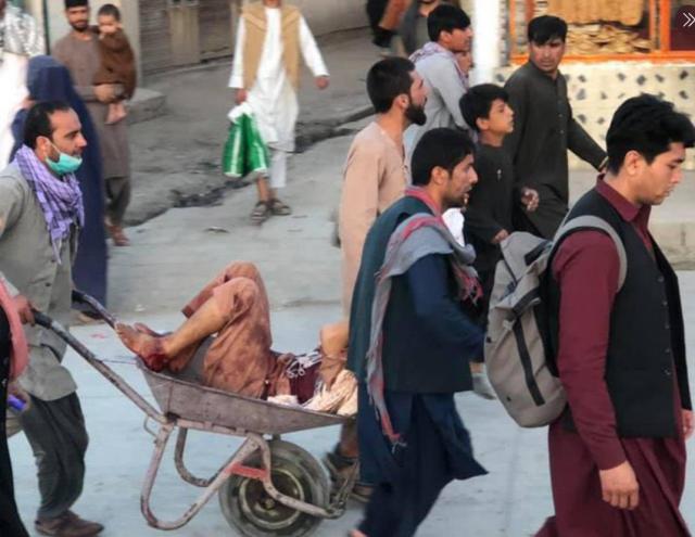 suicide bombings near kabul