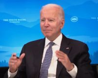 Biden Shows Off His 'Math' And 'Logic' Skills During Virtual Roundtable (Video)