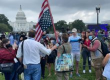 Was It A Set-up As Trump Predicted? More Press, Police Than Protesters At Justice For J6 Protest (Video)