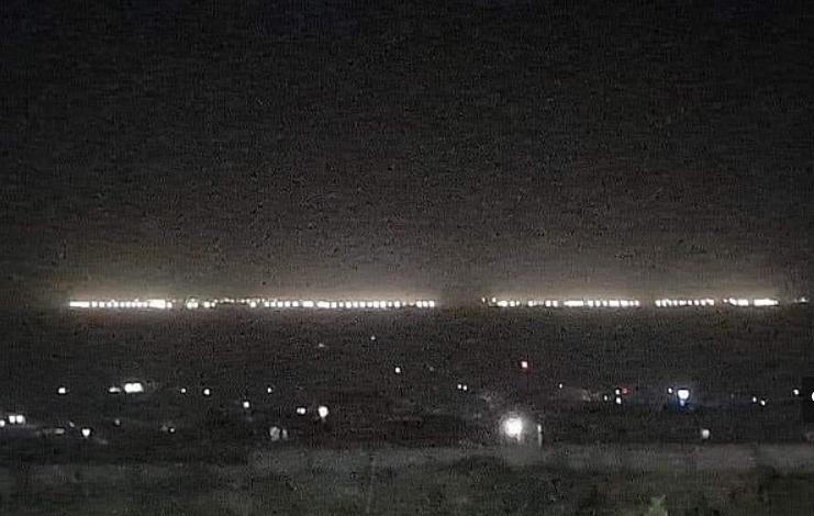 lights back on at Bagram