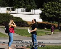 Students At Berkeley Donate Funds To Support Taliban, Kill Americans (Video)