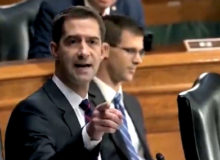 Sen. Tom Cotton To AG Garland: 'Thank God You're Not On The Supreme Court!' (Video)