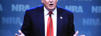 Trump gets NRA endorsement; why are some people skeptical?