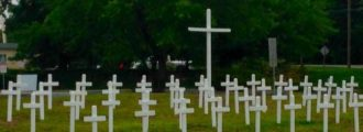 Memorial Day crosses removed due to complaints angers Veterans, citizens