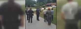 Bomb squad detonates IED found on roadside — in Indiana