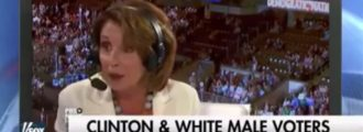 Video: What Nancy Pelosi said about white male voters will make your head explode