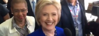 Video: Clinton seizure has some claiming demonic possession