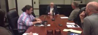 Evil Harry Reid: Benghazi victim's mother 'crazy' — Video