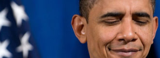 Obama denies Jerusalem located in Israel