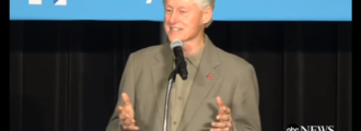 Bill Clinton: Trump's supporters 'your basic redneck'