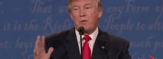 Call 911: Corrupt media mad Trump refused to concede defeat during debate