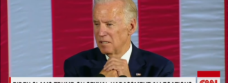 Advocating violence: Tough guy Joe Biden wants to take Trump 'behind the gym' — Video