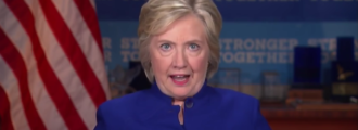 Hillary melted down on Election Day, screaming obscenities, throwing objects -- Report