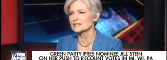 Jill Stein claims voting machines could be hacked by people walking around with floppy disks