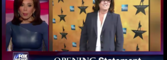 Judge Jeanine hammers 'Communist' Rosie O'Donnell: Your 'martial law' tweet is stupid — Video