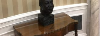 Time reporter apologizes after falsely reporting MLK bust removed from Trump White House