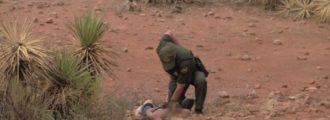 Undocumented Alien Assaults Border Patrol Agent