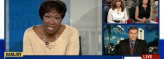 MSNBC's Joy Reid race-baits with false claims, kicks GOP guest off show for saying Liz Warren not Native American