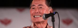 George Takei under fire after tweeting support for 'American Spring' to take out Trump
