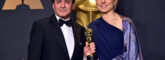 Iranian who won Oscar insults country that hosted event, Hollywood cheers as Twitter erupts in outrage