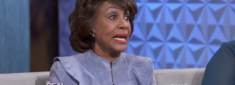 Video: Maxine Waters admits defrauding government to get Social Security card