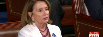 Sourpuss Nancy Pelosi refuses to applaud American job creation