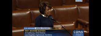 Maxine Waters questions patriotism of Trump supporters on House floor — Video