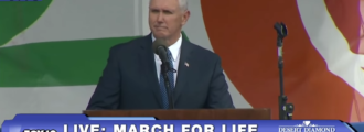 Unreal: Liberal hatemongers attack Mike Pence for being faithful to his wife