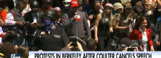 At least six arrested at Berkeley, reports claim Antifa threw feces at conservatives