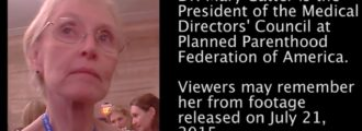 Video: Planned Parenthood Exec Again Negotiates Over Baby Parts Prices