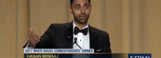 Alleged comedian at WHCD smears Bannon as a 'Nazi,' Sessions as a racist