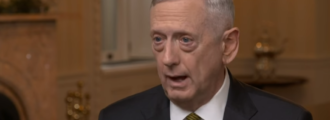 James 'Mad Dog' Mattis gives savage one-line answer to what keeps him up at night — Video