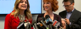 Pathetic: Kathy Griffin blames 'older white guy' Donald Trump for her offensive ISIS-like photo