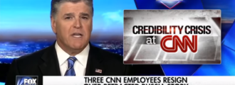 Sean Hannity calls for CNN's Zucker to be fired in wake of fake news scandal