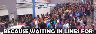 Venezuela's socialist government rewards soldiers with toilet paper