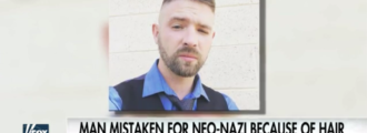 Man mistaken for neo-Nazi because of short haircut, gets stabbed by Antifa thug