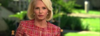 Actress Ellen Barkin says conservative blogger should be physically assaulted