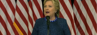 Hillary Says She May Challenge the Election Results