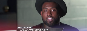 Tone deaf -- Titans' Delanie Walker to NFL fans who don't like protests: 'OK, Bye'