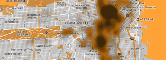Public defecation map proves San Francisco a literal s***hole