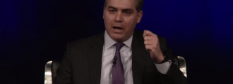 CNN's Jim Acosta: Our 'duty' to ask Trump if he's a racist; Not right for Trump to call us fake news -- Video