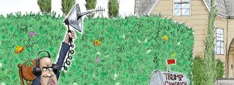 Cartoon of the Day: Bushwhacker